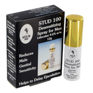 Stud 100 Delay Spray (Genuine UK product)